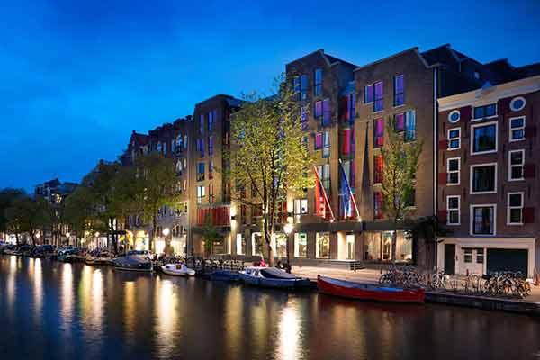 Beste hotel met ontbijt Amsterdam